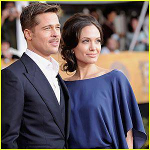Brad Pitt – SAG Awards 2009 | Angelina Jolie, Brad Pitt, SAG Awards 2009 : Just Jared