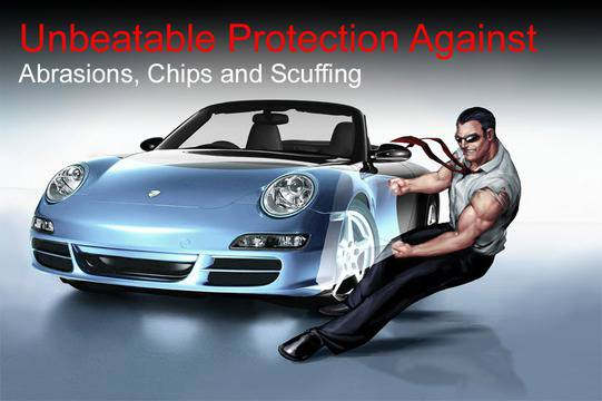 Las Vegas clear bra Installation. Pro-Tect your car.