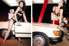 Agent Provocateur Spring meets the road