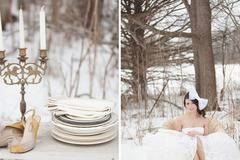 Winter Wedding – Princess and dress