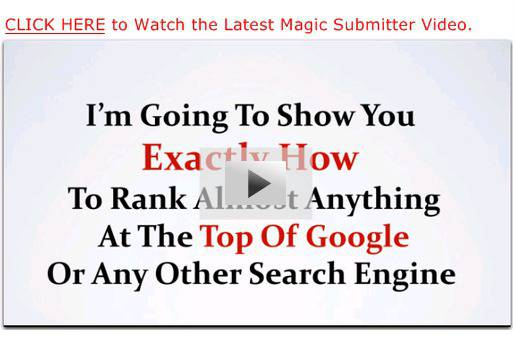 "Magic Submitter - ""New"" How to Rank Anything in 2014 by..."