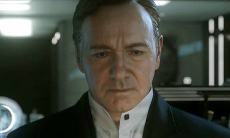 Kevin Spacey to star in upcoming video game Call of Duty: Advanced Warfare (+ TRAILER)