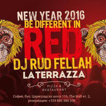 New Year 2016 Be Different in RED – La Terazza