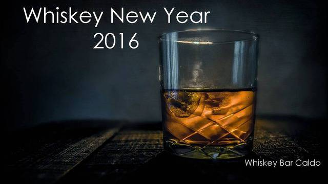 Whiskey New Year 2016