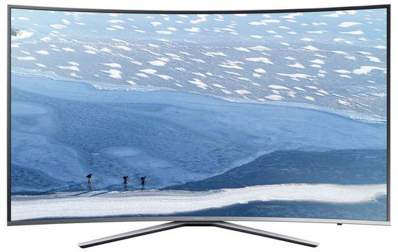 Телевизор LED Извит Smart Samsung, 101 cm, 40KU6172, 4K Ultra HD