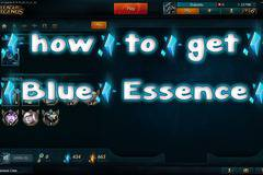 League of Legends how to get Blue Essence