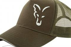 Шапка с козирка Fox Green / Silver Trucker Cap